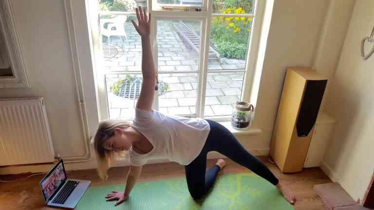 Start Yoga Practice Half Side Plank