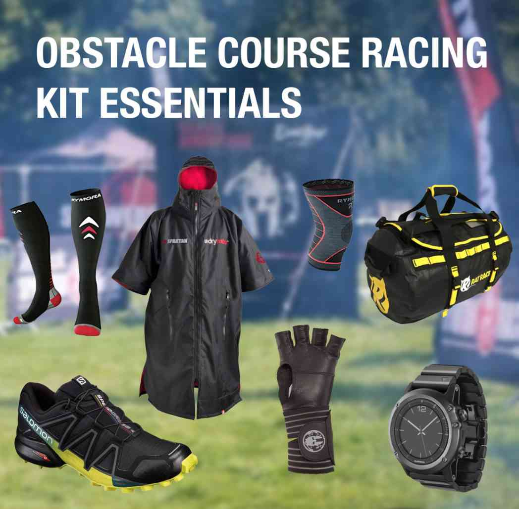 Obstacle Course Race Kit list by Ian Arnold