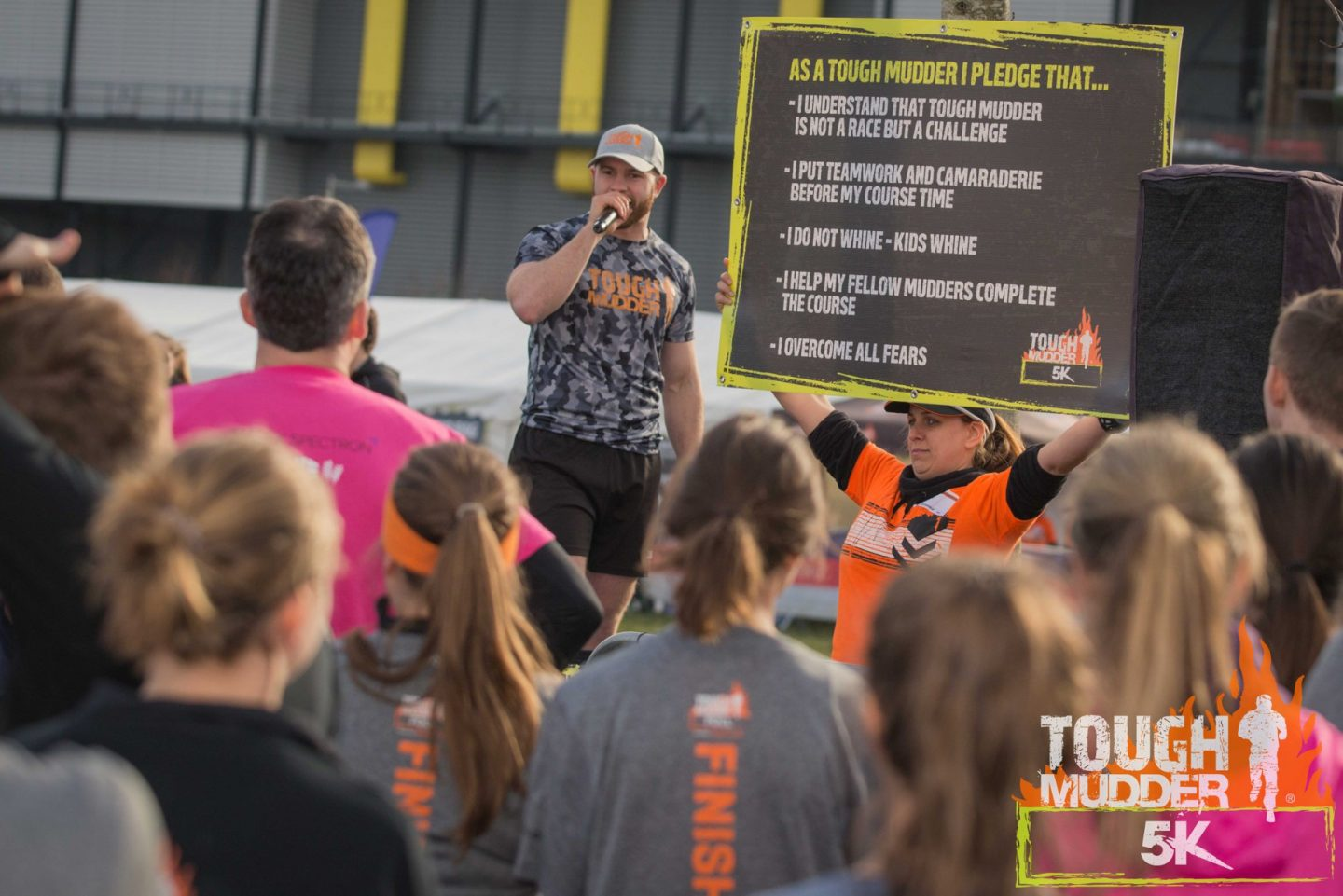 Tough Mudder 5km Mudder Pledge