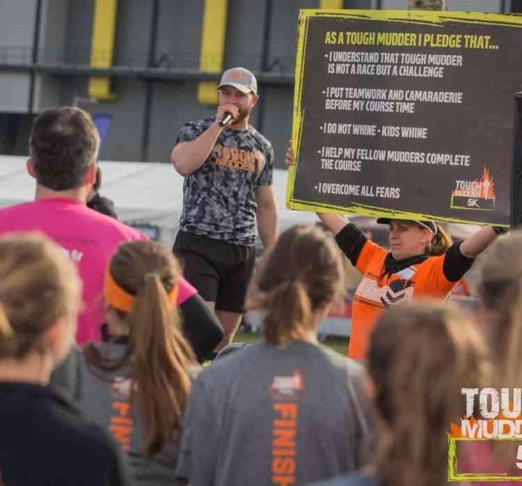 Tough Mudder 5km Mudder Pledge