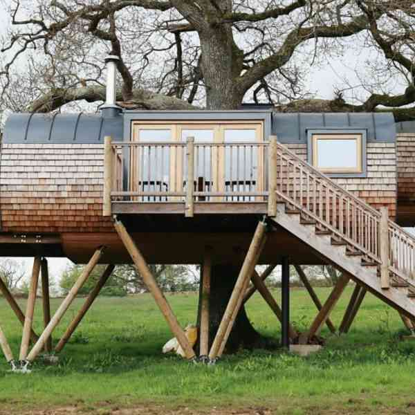 Two Nights at Cheriton Treehouse, Somerset