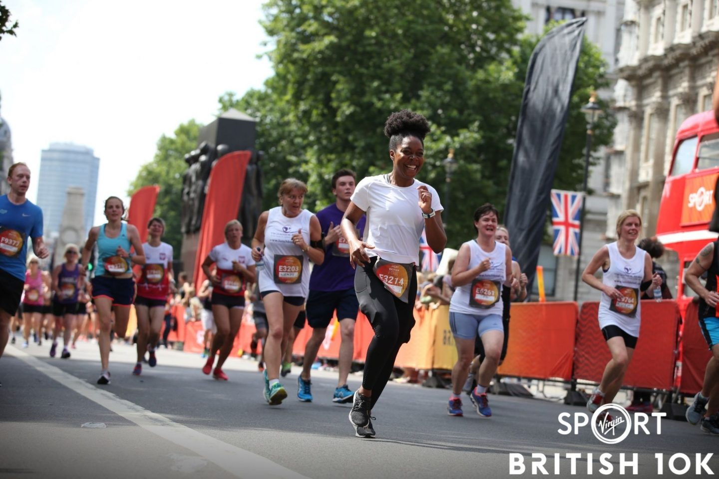 British 10km as training for First Half Marathon
