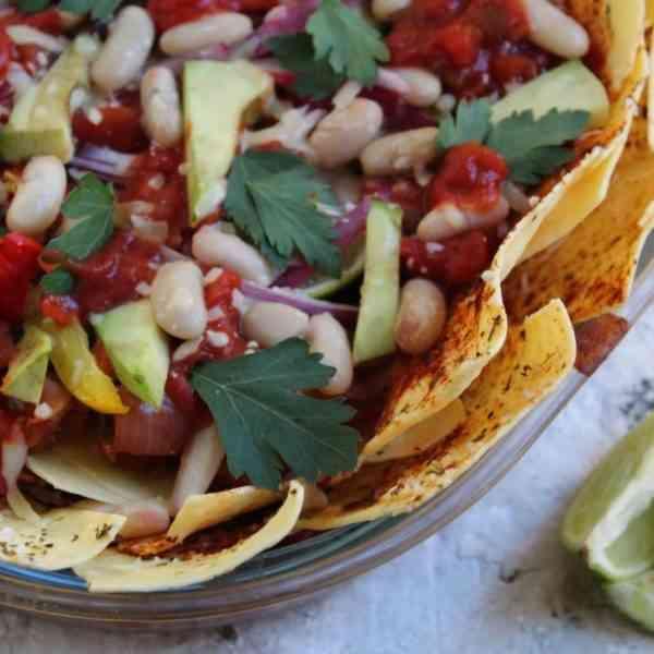 Homemade Nachos Recipe | The Baking Nutritionist