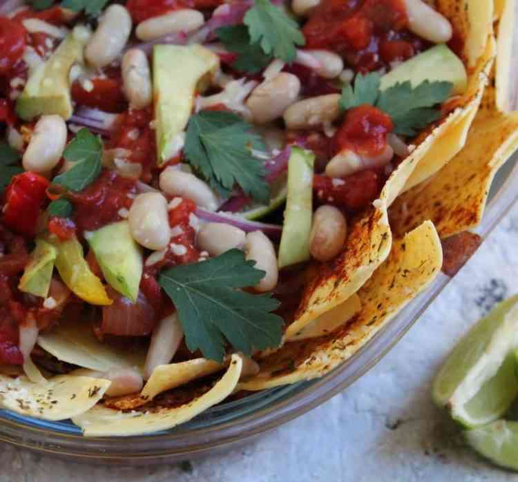 homemade nachos recipe by the baking nutritionist