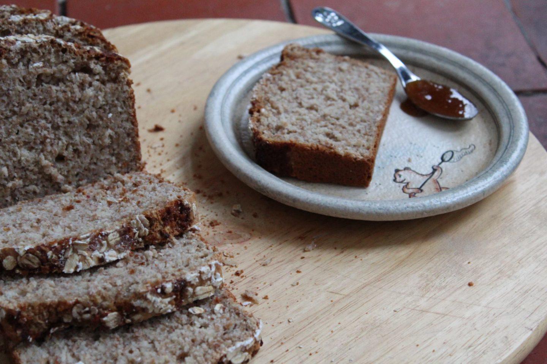 Oats & Honey Loaf on Winnie the Pooh plate