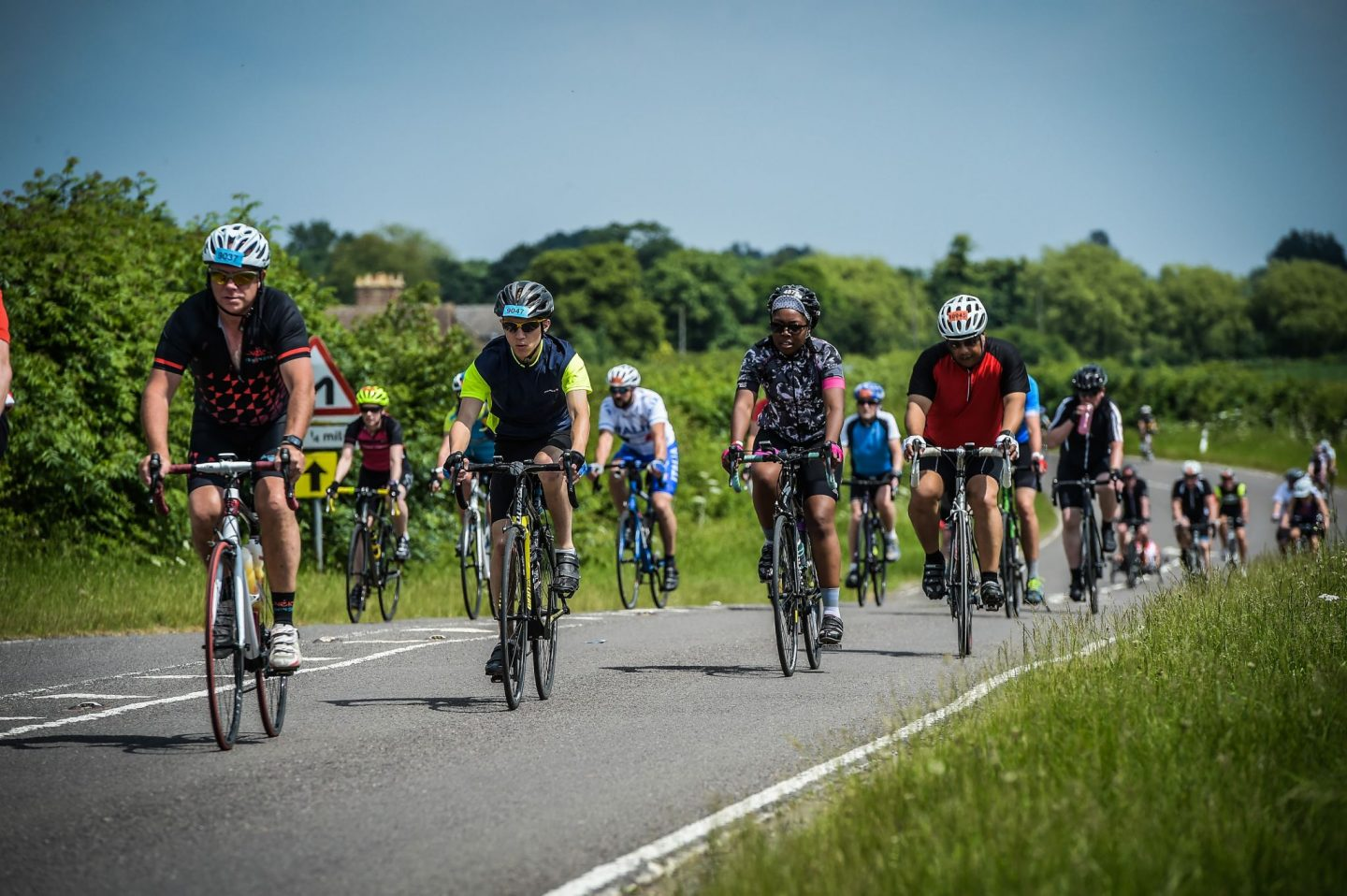 on the tour of Cambridgeshire 2018 route