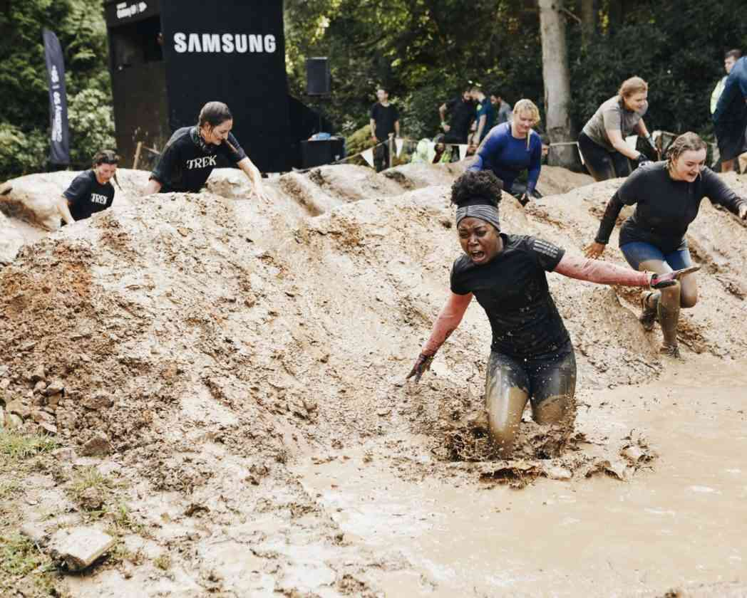 tough mudder with samsung