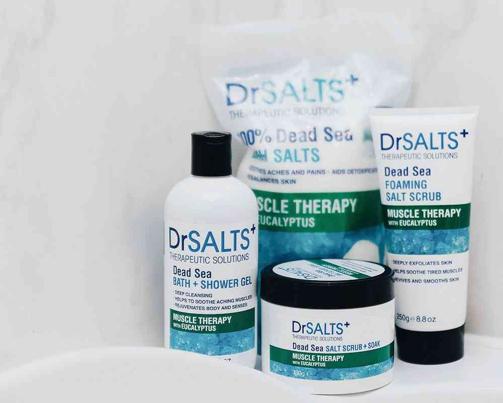 Introducing DrSALTS+ Muscle Therapy