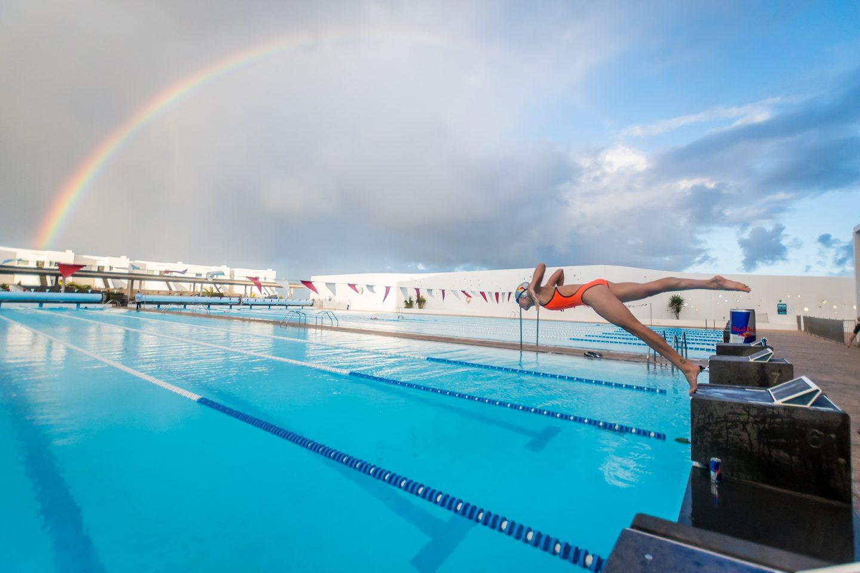 7am Morning Swim with Lucy Charles at club la santa
