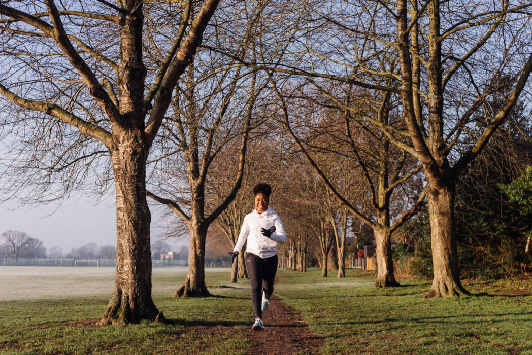 becoming a better runner - running in roding valley recreation ground