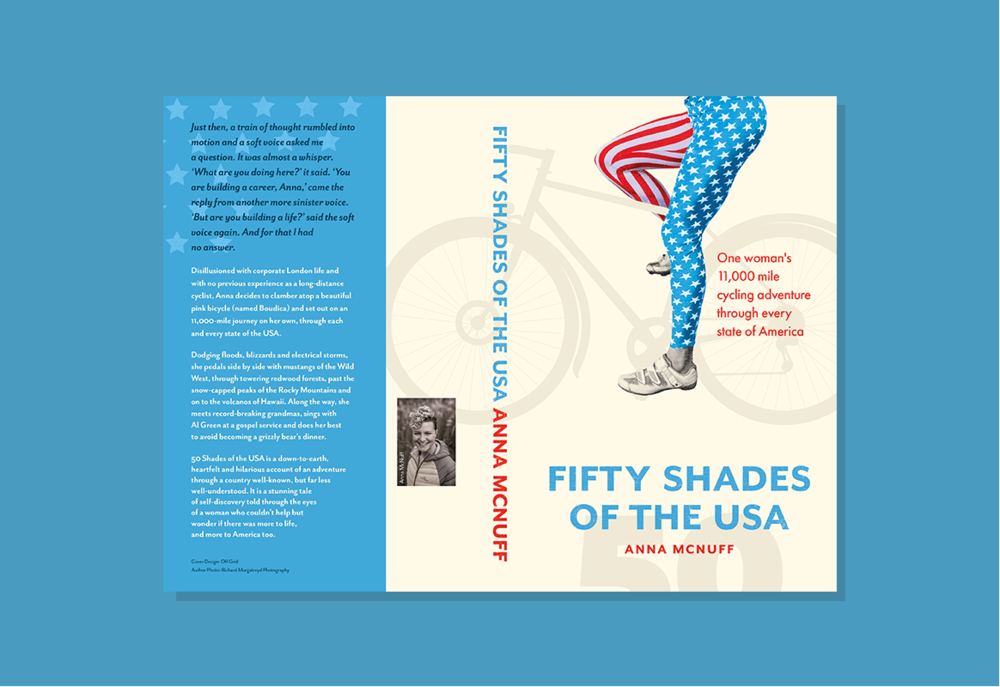 50 shades of USA | books about cycling
