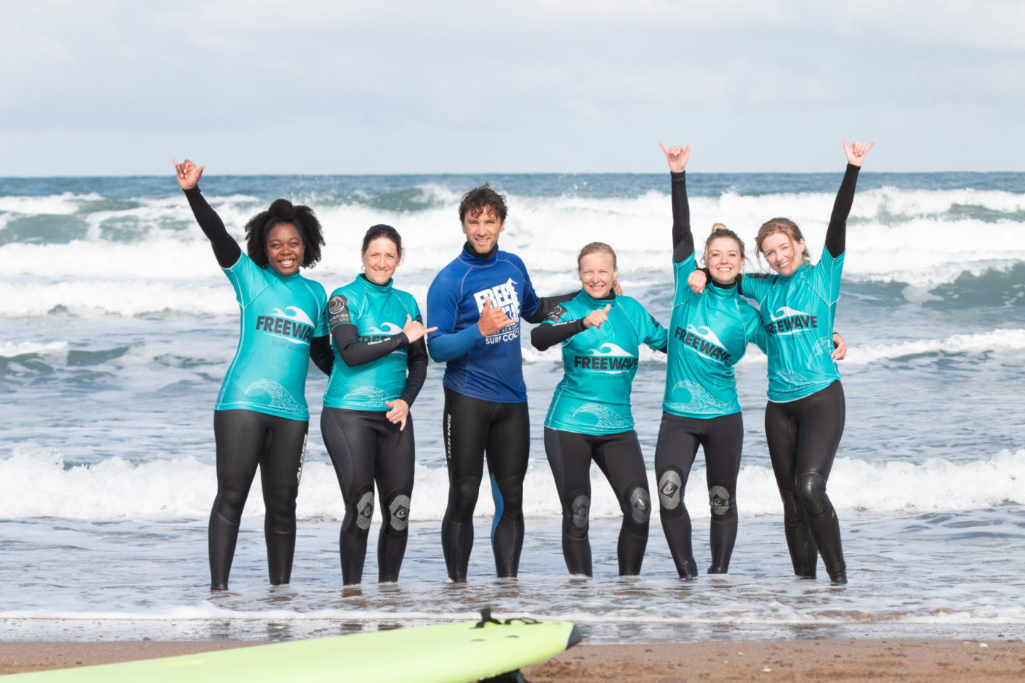 freewave surf and yoga retreat Bude Cornwall images @Tommy_Hatwell