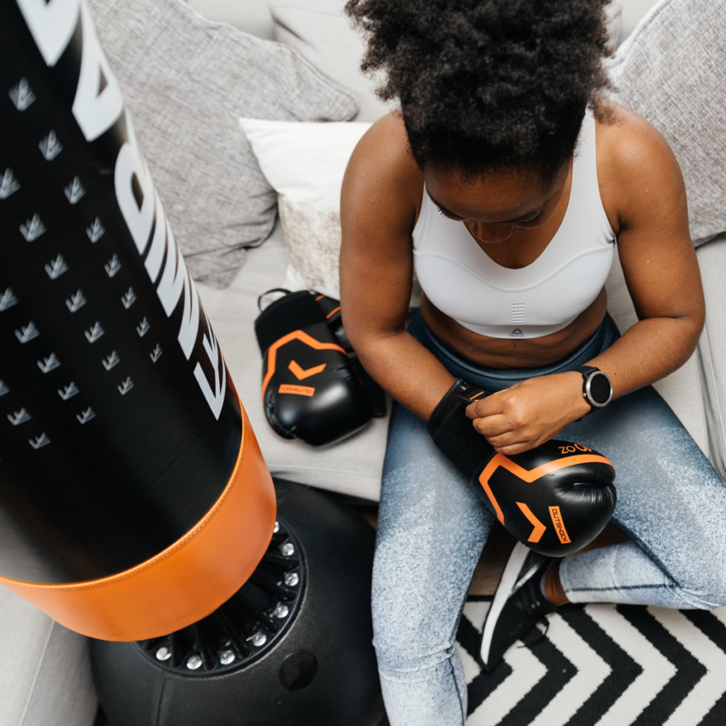 30 minute boxing fitness workout and mirafit review