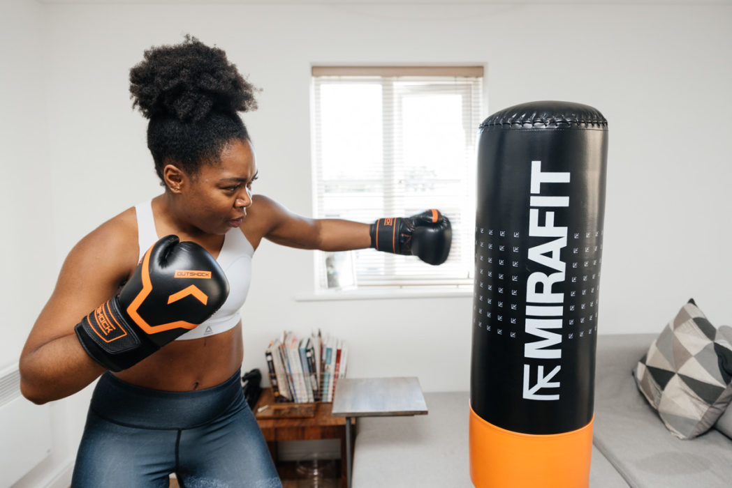 The Mirafit Punch Bag & Base