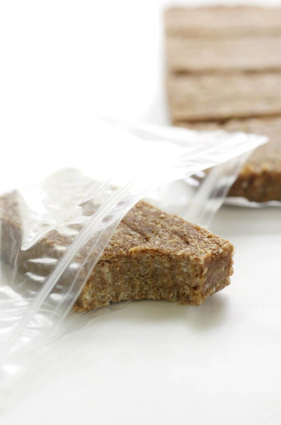 Oat-Free No-Bake Granola Bars