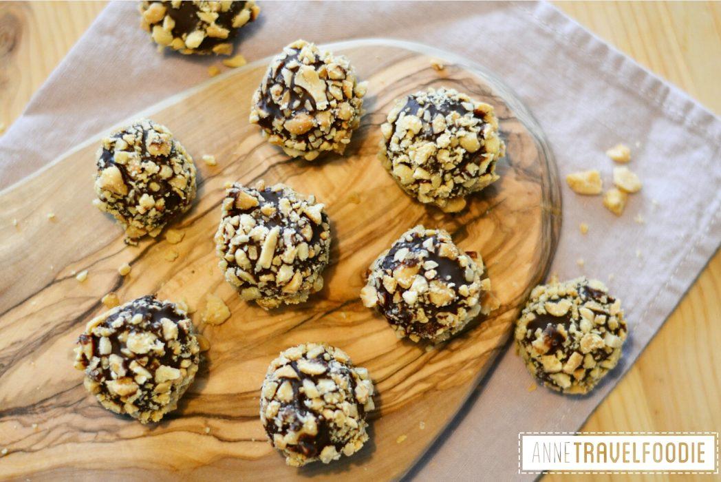 Vegan Snickers Balls
