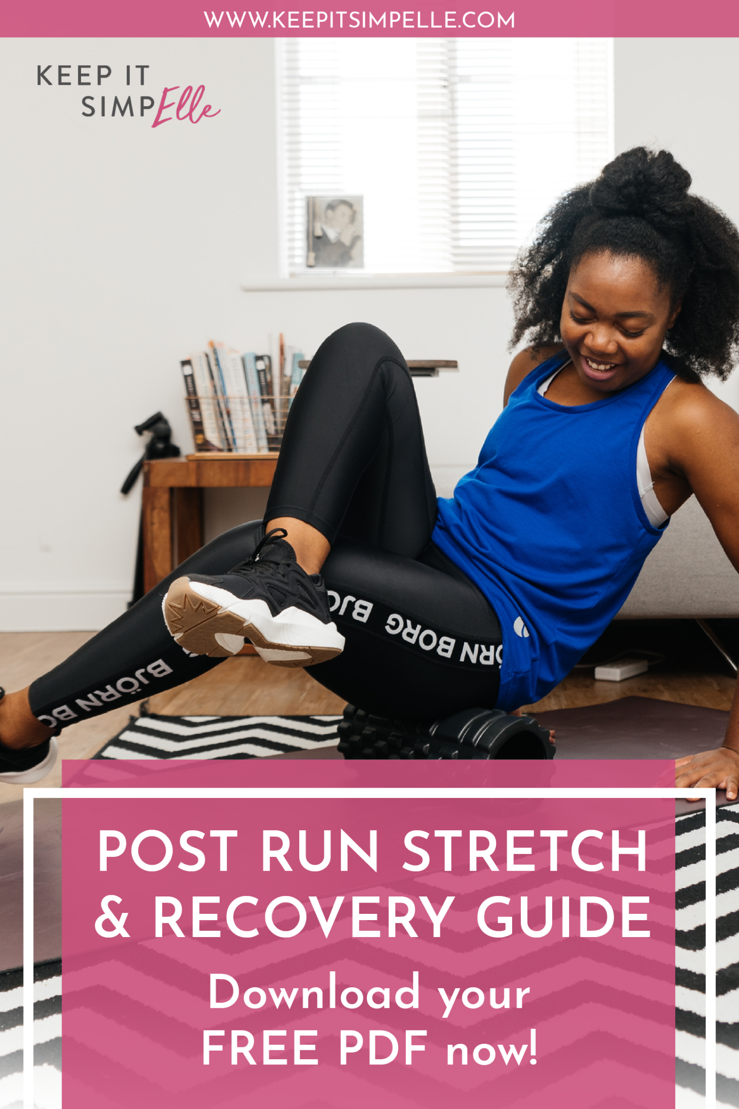 Your Post Run Stretch & Recovery Guide - Free PDF Download including 10km training plan for busy runners - run twice a week