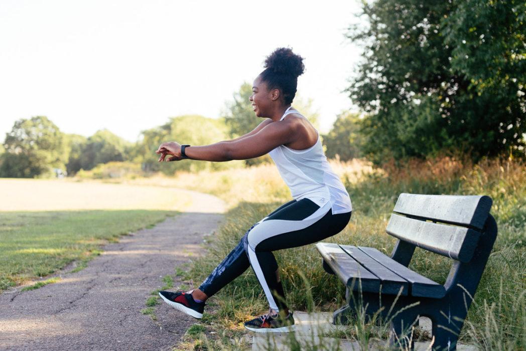 A Simple Park Workout - Pistol Squats