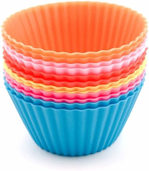 Reusable Silicone Cupcake Moulds