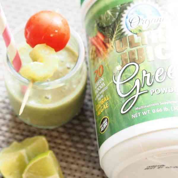 So Fresh & So Green Smoothie with Nature's Plus