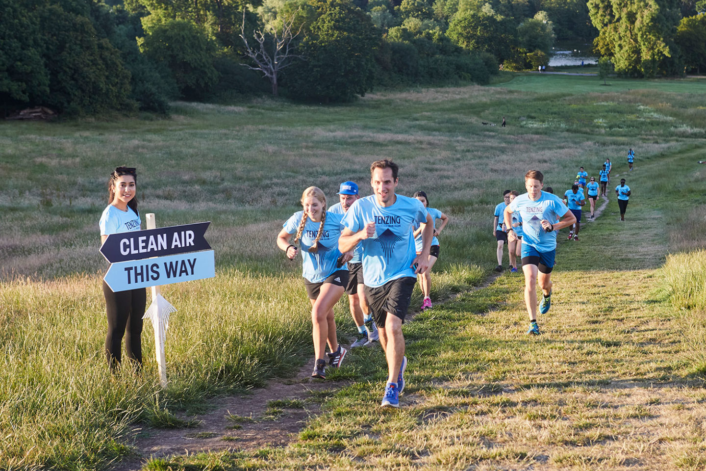 In 2019, TENZING launched a 'Clean Air Run Club' in London that tackles health, fitness and London's air pollution with the use of technology.