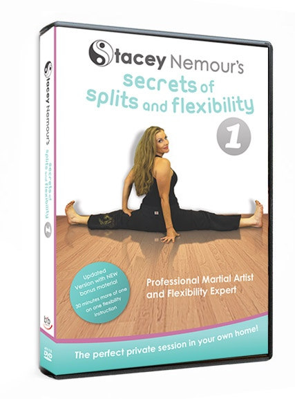 'Secrets of Splits & Flexibility' DVD by Stacey Nemour