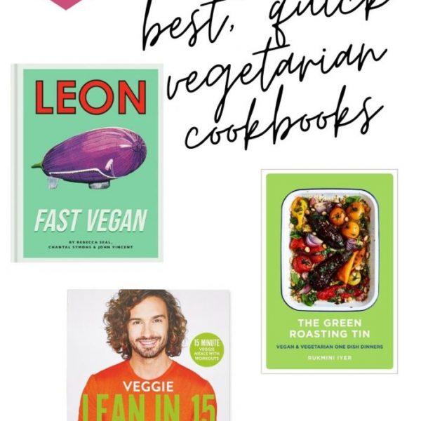 3 Best Vegetarian Cookbooks For Quick Meals