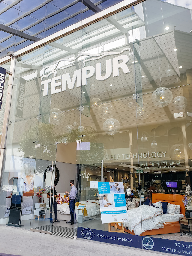 Store from of TEMPUR®  Westfield Stratford