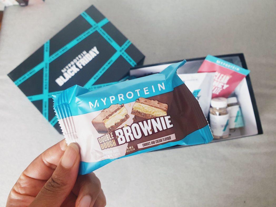 MyProtein Double Crunch Brownie | MyProtein Black Friday Box