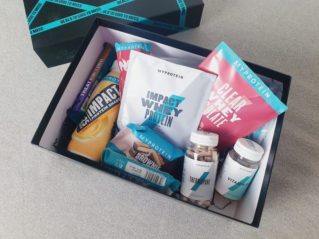 What's in the MyProtein Black Friday box