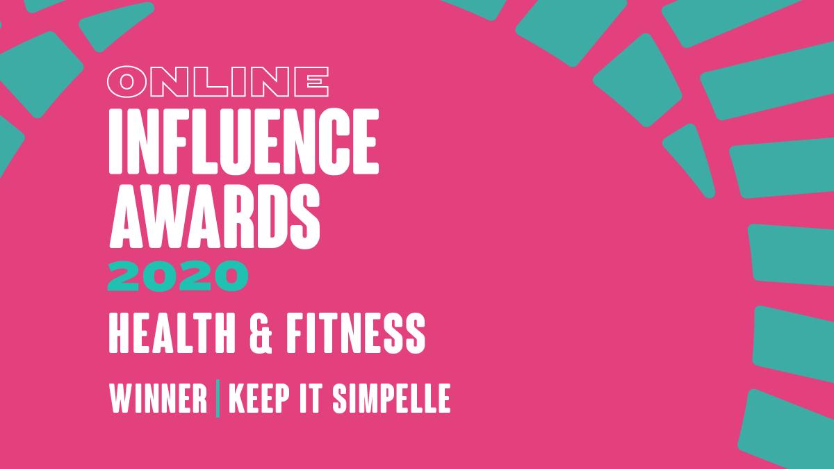 Best Health & Fitness Influencer 2020