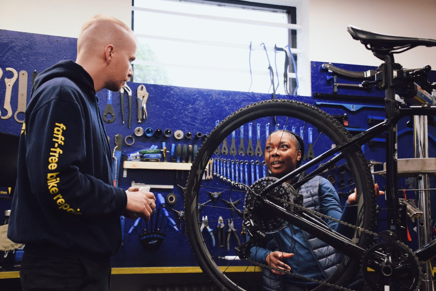 5 Step Bike Prep with fettle. Step Two: Tyre Check